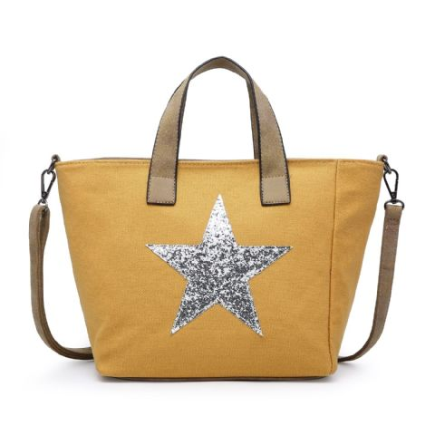SMALL STAR TOTE YELLOW